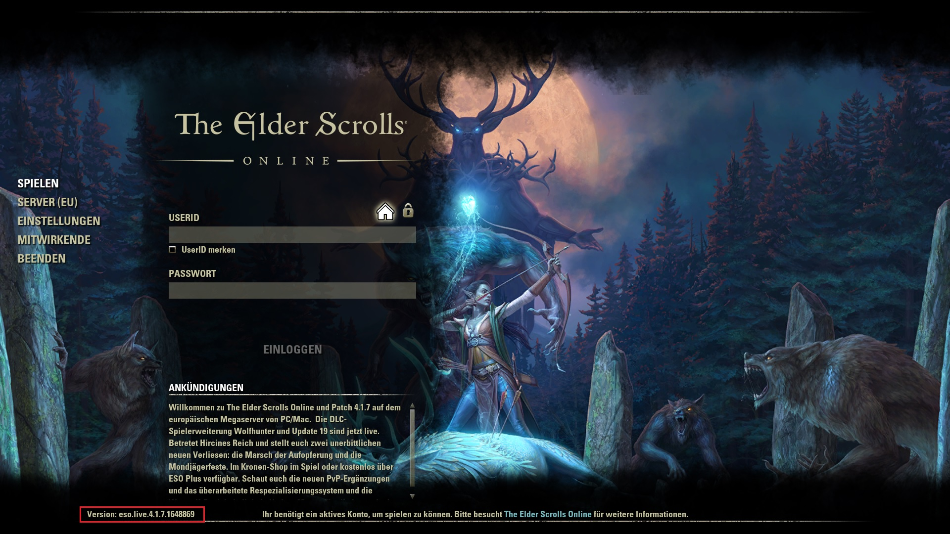 Eso Launcher Freezes On Startup